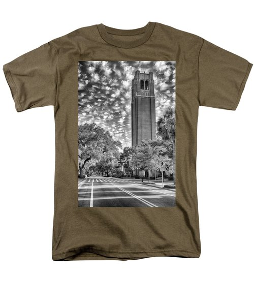 Century Tower  Men's T-Shirt  (Regular Fit) by Howard Salmon