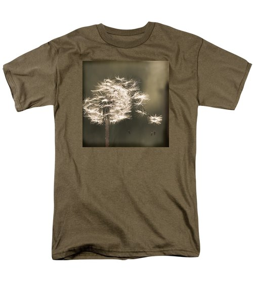Men's T-Shirt  (Regular Fit) featuring the photograph Dandelion by Yulia Kazansky