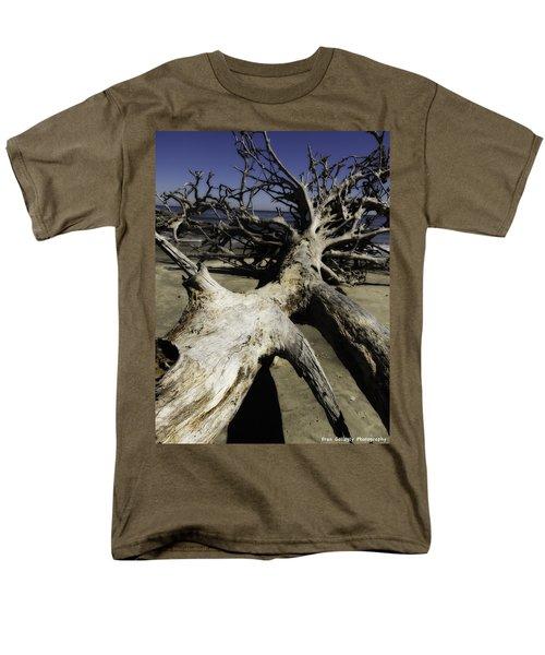 Driftwood Men's T-Shirt  (Regular Fit) by Fran Gallogly