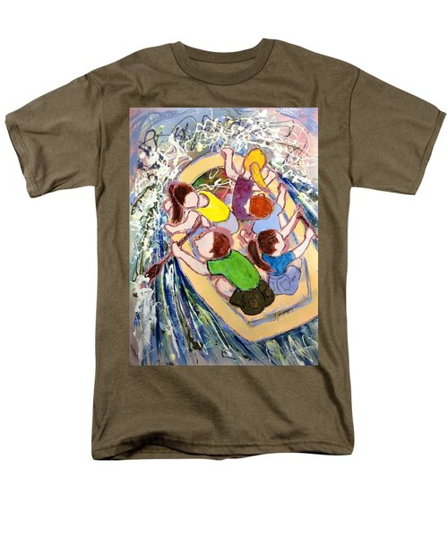 Family Vacation Men's T-Shirt  (Regular Fit) by Marilyn Jacobson