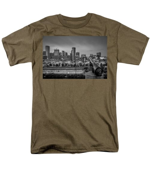 Federal Hill In Baltimore Maryland Men's T-Shirt  (Regular Fit) by Susan Candelario