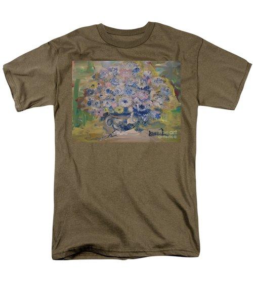 Flow Bleu Men's T-Shirt  (Regular Fit) by Laurie L