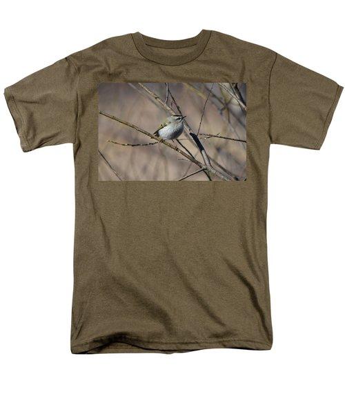 Golden-crowned Kinglet Men's T-Shirt  (Regular Fit) by James Petersen