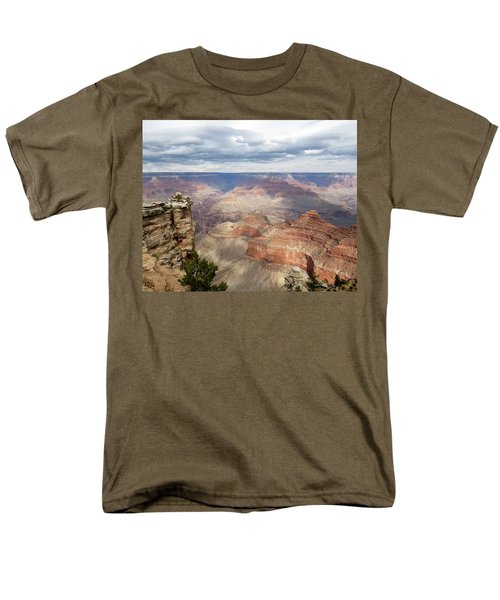 Grand Canyon National Park Men's T-Shirt  (Regular Fit) by Laurel Powell