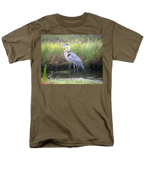 Great Blue Heron Men's T-Shirt  (Regular Fit)