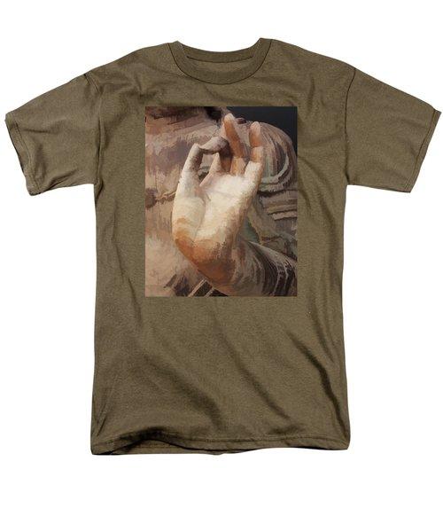 Hand Of Buddha C2014 Men's T-Shirt  (Regular Fit) by Paul Ashby