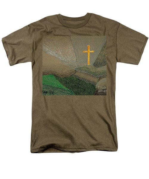 Depression And The Saviour Men's T-Shirt  (Regular Fit)