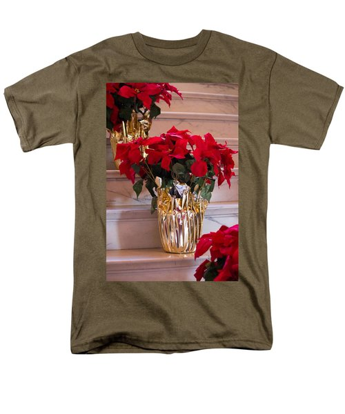 Happy Holidays Men's T-Shirt  (Regular Fit) by Patricia Babbitt