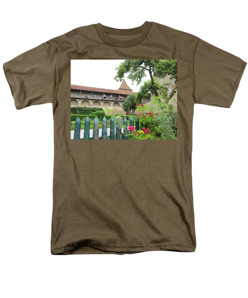 Harburg Castle Men's T-Shirt  (Regular Fit) by Pema Hou