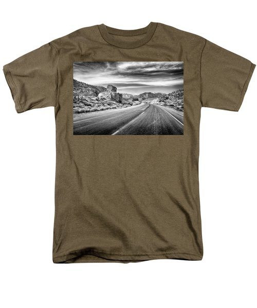 Kyle Canyon Road Men's T-Shirt  (Regular Fit) by Howard Salmon