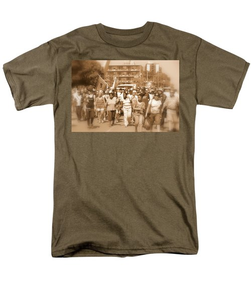 Labor Day Parade Men's T-Shirt  (Regular Fit) by Valentino Visentini