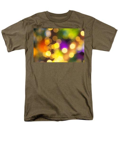 Light Circles Men's T-Shirt  (Regular Fit) by Susan Stone