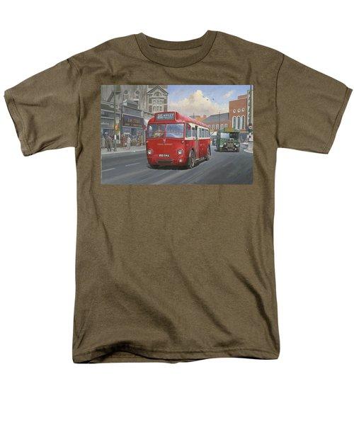 London Transport Q Type. Men's T-Shirt  (Regular Fit) by Mike  Jeffries