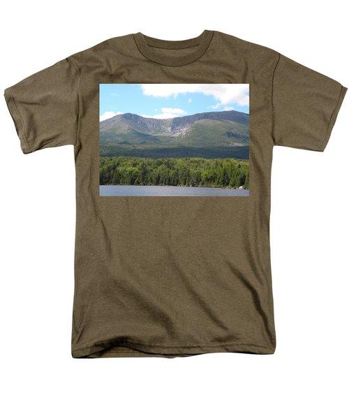 Mt. Katahdin Men's T-Shirt  (Regular Fit) by James Petersen