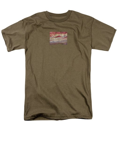 Men's T-Shirt  (Regular Fit) featuring the photograph John Day Fossil Beds Painted Hills by Michele Penner