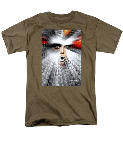 Men's T-Shirt  (Regular Fit) featuring the painting OMG by Rafael Salazar