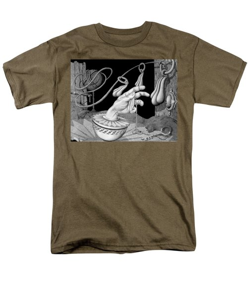 Men's T-Shirt  (Regular Fit) featuring the drawing Opportunity by Geni Gorani