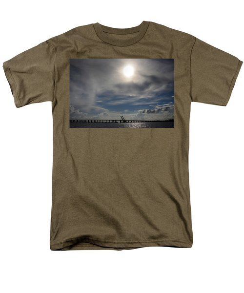 Men's T-Shirt  (Regular Fit) featuring the photograph Pass Manchac by Charlotte Schafer