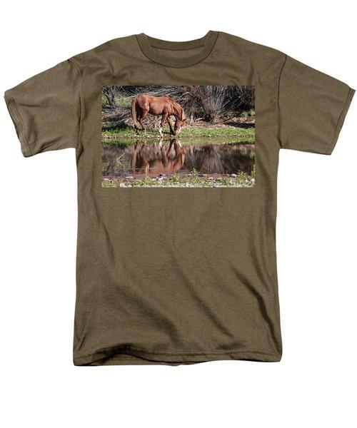 Salt River Wild Horse Men's T-Shirt  (Regular Fit) by Tam Ryan