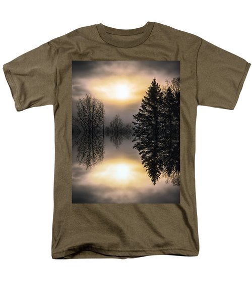 Sunrise-sundown Men's T-Shirt  (Regular Fit) by Sherman Perry