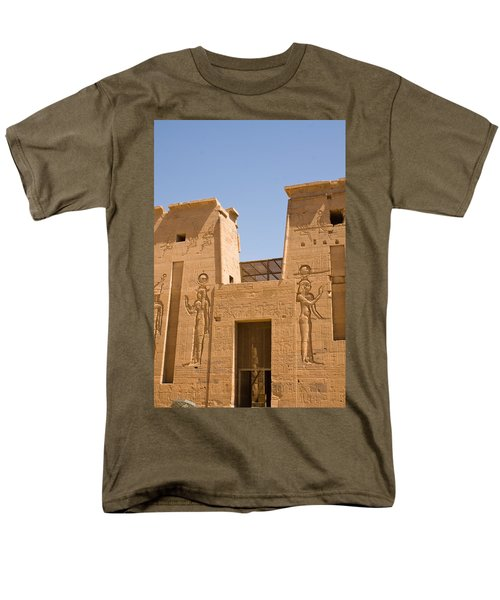 Temple Wall Art Men's T-Shirt  (Regular Fit) by James Gay