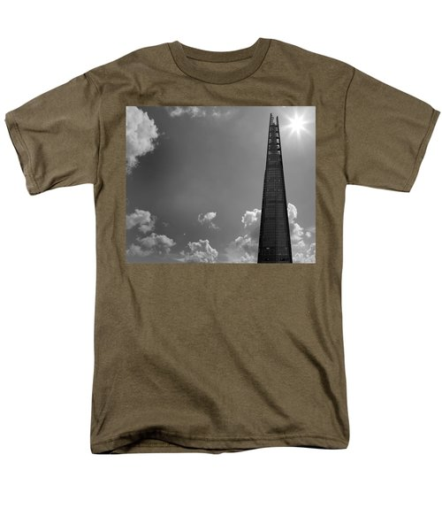The Shard London Men's T-Shirt  (Regular Fit) by Martin Newman