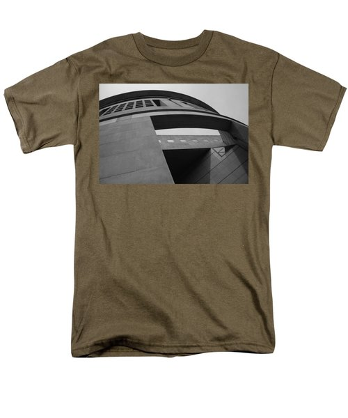 Men's T-Shirt  (Regular Fit) featuring the photograph The United States Holocaust Memorial Museum by Cora Wandel