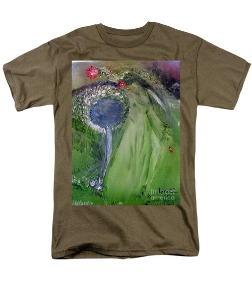 Water Girl Men's T-Shirt  (Regular Fit) by Laurie L