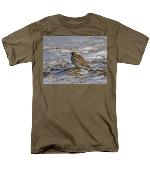 Winter Bird Men's T-Shirt  (Regular Fit) by Jeff Swan