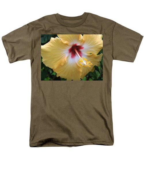 Hibiscus Men's T-Shirt  (Regular Fit) by Ron Davidson