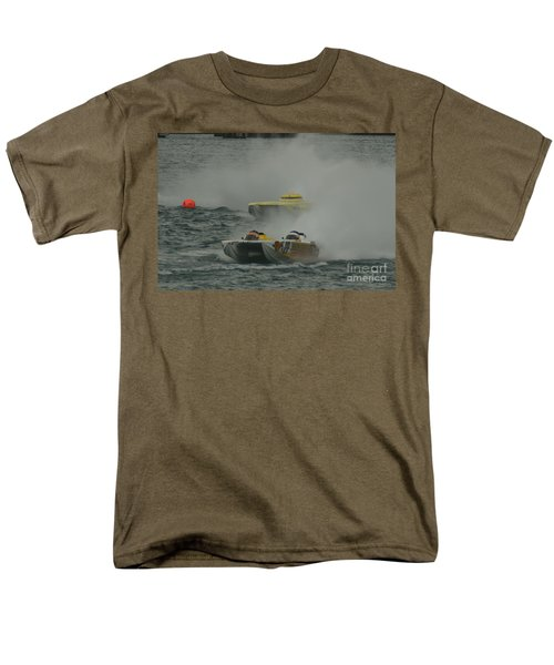 Port Huron Sarnia International Offshore Powerboat Race Men's T-Shirt  (Regular Fit) by Randy J Heath