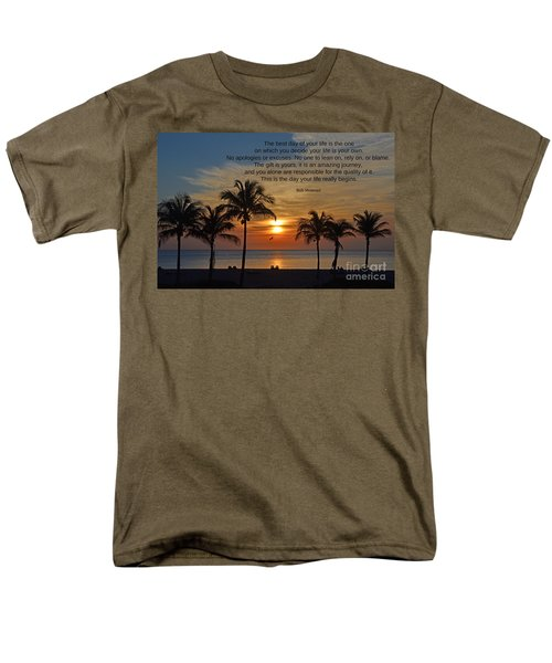 154- Bob Moawad Men's T-Shirt  (Regular Fit) by Joseph Keane