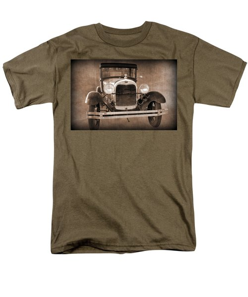 1928 Ford Model A Coupe Men's T-Shirt  (Regular Fit) by Betty Northcutt