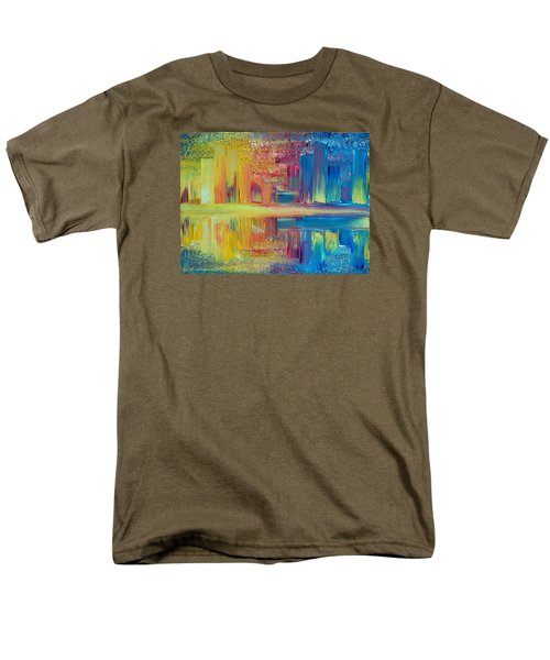 City Lights Men's T-Shirt  (Regular Fit)
