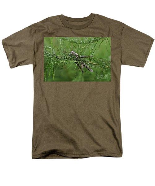 Men's T-Shirt  (Regular Fit) featuring the photograph Grasshopper by Olga Hamilton