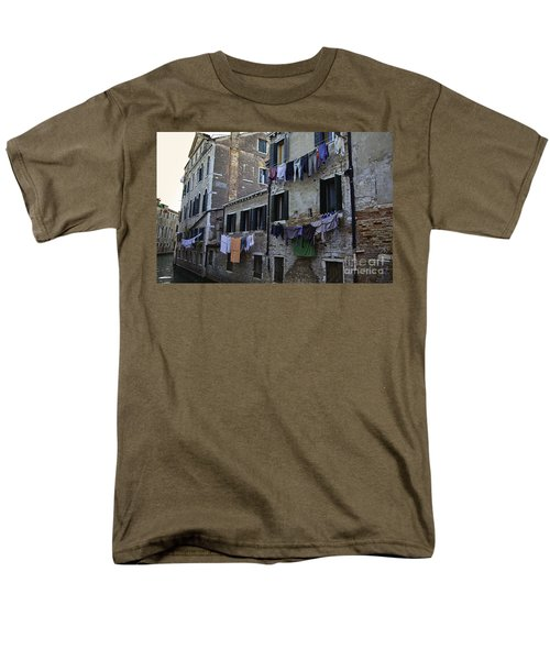 Hanging Out To Dry In Venice Men's T-Shirt  (Regular Fit) by Madeline Ellis