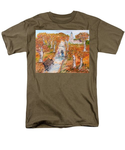 L'autunno Della Vita Men's T-Shirt  (Regular Fit) by Loredana Messina