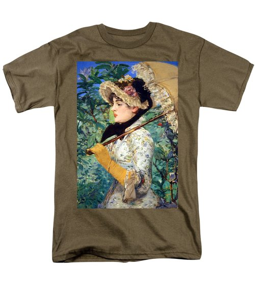 Men's T-Shirt  (Regular Fit) featuring the photograph Manet's Spring by Cora Wandel