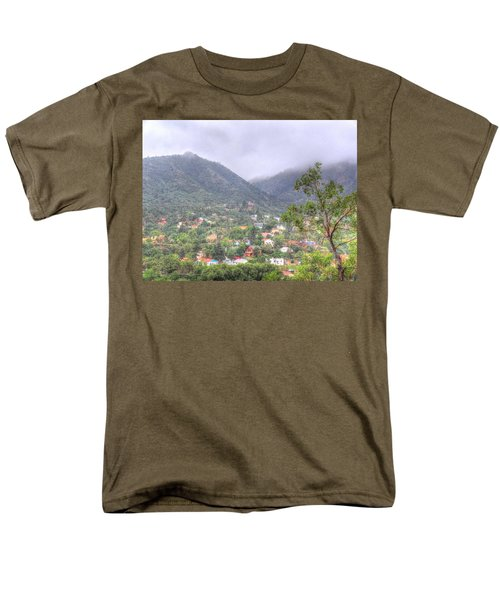 Men's T-Shirt  (Regular Fit) featuring the photograph Manitou To The South II by Lanita Williams