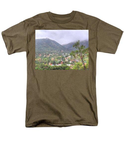 Manitou To The South II Men's T-Shirt  (Regular Fit) by Lanita Williams