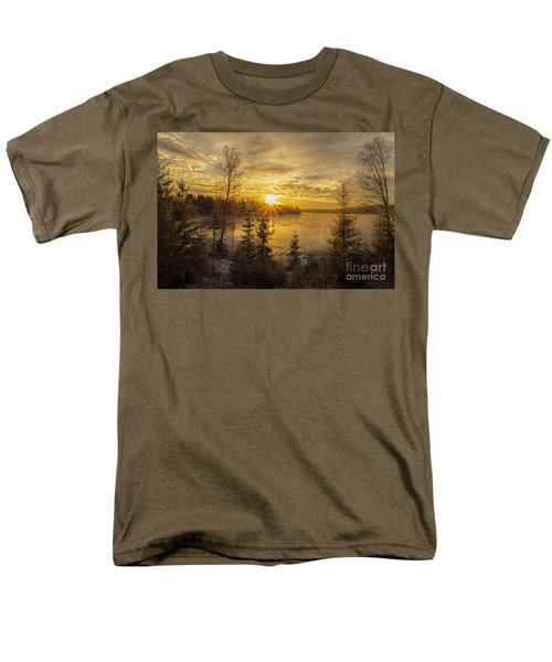 Men's T-Shirt  (Regular Fit) featuring the photograph Norway by Rose-Maries Pictures