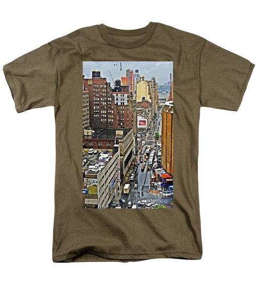 Men's T-Shirt  (Regular Fit) featuring the photograph Park N Lock by Lilliana Mendez