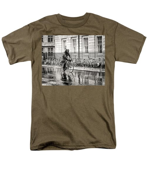 Rainy Day Ride Men's T-Shirt  (Regular Fit) by William Beuther