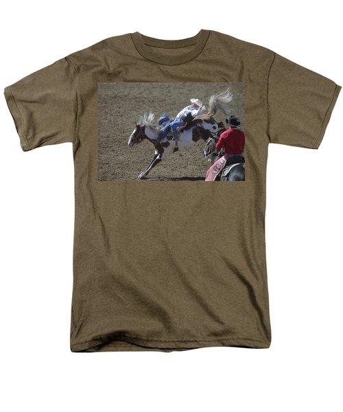 Ride Em Cowboy Men's T-Shirt  (Regular Fit) by Jeff Swan