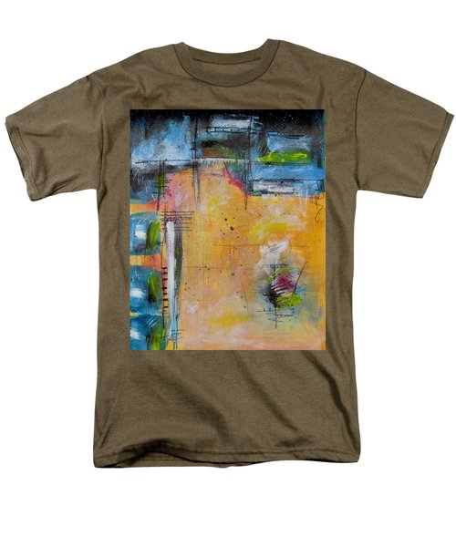 Men's T-Shirt  (Regular Fit) featuring the painting Spring by Nicole Nadeau