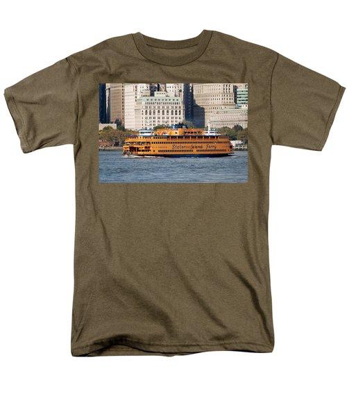 Staten Island Ferry Men's T-Shirt  (Regular Fit) by Rob Hans