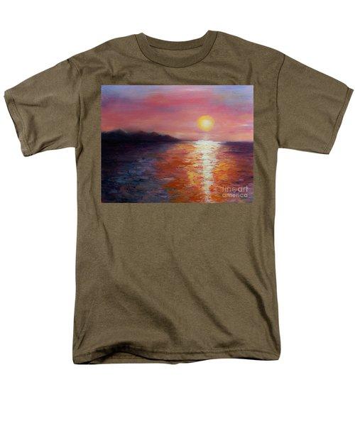 Sunset In Ixtapa Men's T-Shirt  (Regular Fit) by Marlene Book