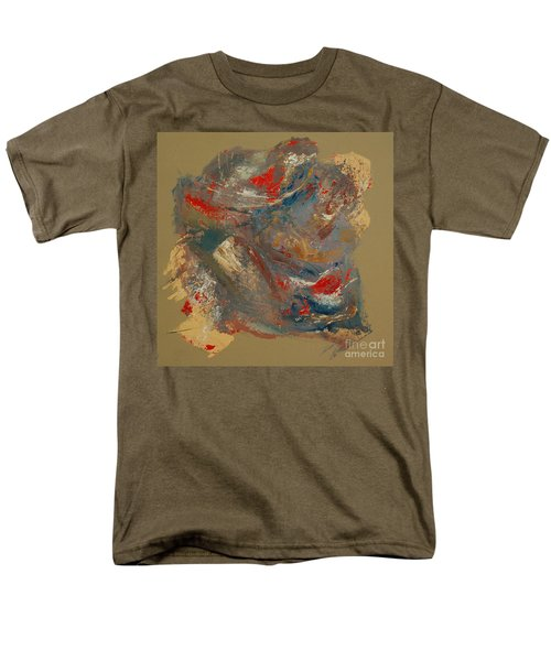 Men's T-Shirt  (Regular Fit) featuring the painting Syncopation 2 by Mini Arora
