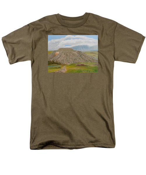 Tucumcari Mountain Reflections On Route 66 Men's T-Shirt  (Regular Fit) by Sheri Keith