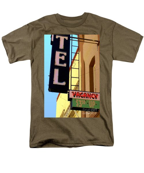 Men's T-Shirt  (Regular Fit) featuring the digital art Vacancy by Valerie Reeves